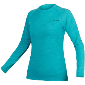 Endura BaaBaa Blend LS Baselayer Women pacific blue